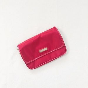 3/$25 Crabtree & Evelyn Red Trifold Packing Bag